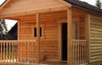 Строительство бани из ели — основные плюсы и минусы материала