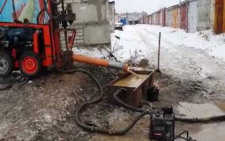 Бурение скважин зимой — плюсы и минусы, этапы работ по сооружению