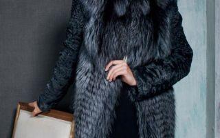 Шуба из чернобурки — плюсы и минусы покупки, модели и особенности носки