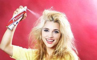 Сухой шампунь — плюсы и минусы использования, правила нанесения