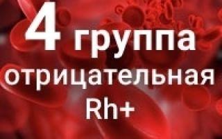Четвертая отрицательная группа крови: плюсы и минусы, описание подходящего питания
