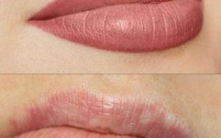 Татуаж губ — основные плюсы и минусы и техника нанесения