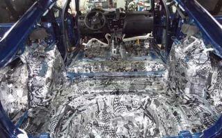 Шумоизоляция автомобиля: плюсы и минусы процедуры, виды материалов
