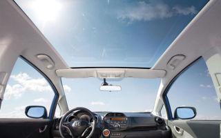 Панорамная крыша на авто: плюсы и минусы