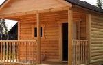 Строительство бани из лиственницы: плюсы и минусы