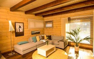 Деревянные перекрытия в доме, их плюсы и недостатки
