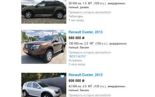 Renault Duster (Рено Дастер): плюсы и минусы выбора авто, особенности эксплуатации