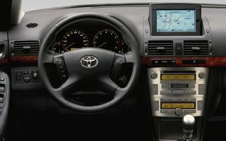 Автомобиль Toyota Avensis (Тойота Авенсис) — основные плюсы и минусы модели