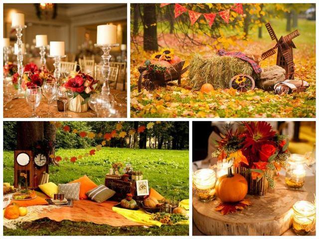 Свадьба осенью: плюсы, минусы и особенности