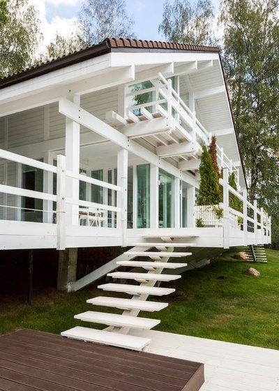 Плюсы и минусы высокого фундамента для дома