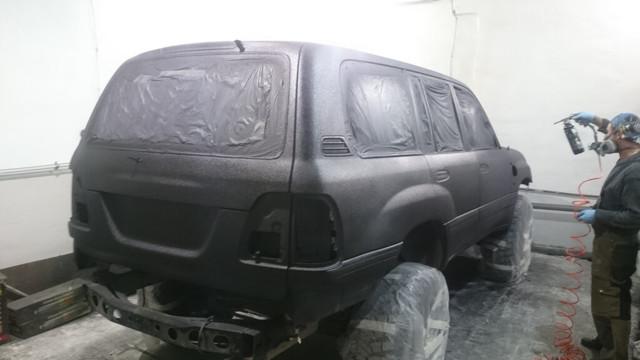 Плюсы и минусы покраски автомобиля Раптором
