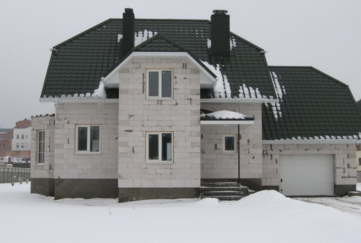 Дом из газосиликатных блоков: плюсы и минусы выбора