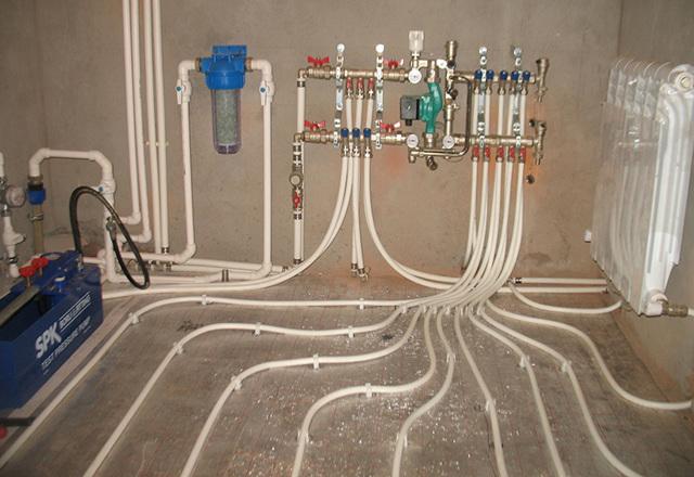 Плюсы и минусы лучевой системы отопления
