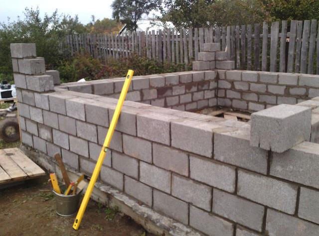Баня из керамзитобетонных блоков: плюсы и минусы