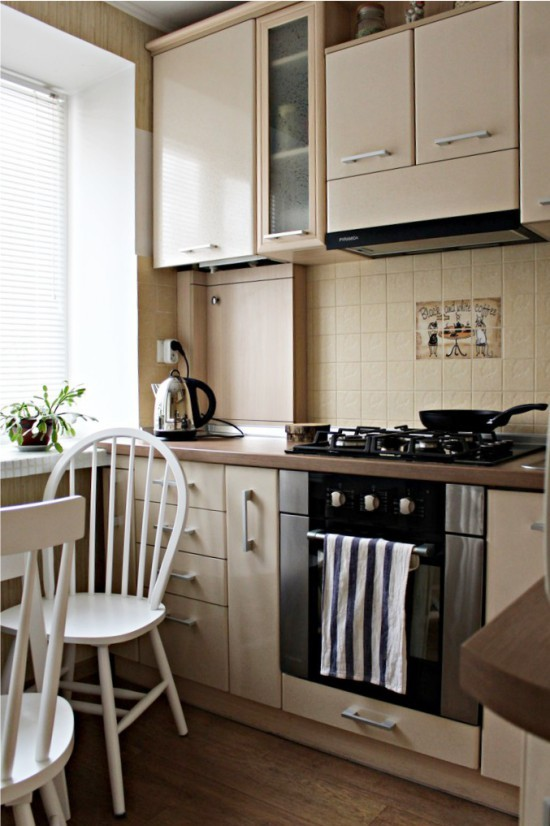 Глянцевая столешница для кухни, ее плюсы и минусы