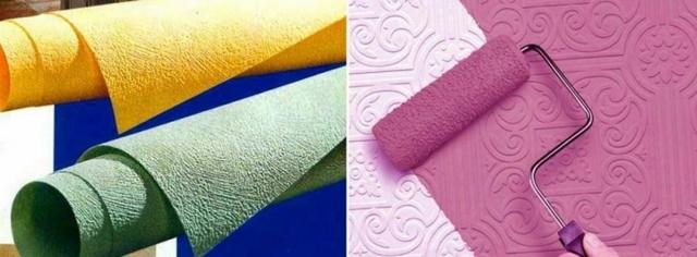 Обои под покраску: особенности, плюсы и минусы
