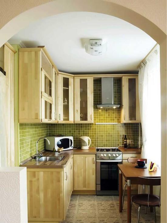 Плита в углу кухни — плюсы и минусы