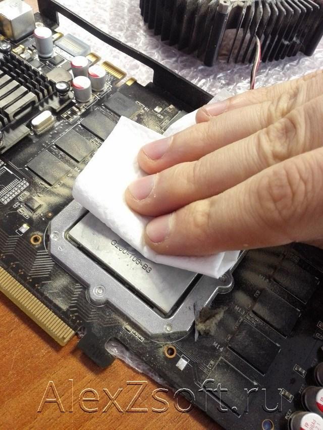 Стоит ли производить замену термопасты на видеокарте?