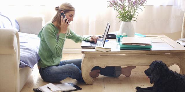 Основные плюсы и минусы работы на дому