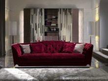 Плюсы и минусы покупки дивана из велюра