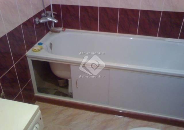 Класть ли плитку под ванной?