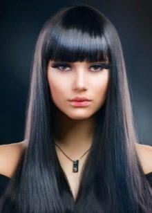 Плюсы и недостатки черного цвета волос
