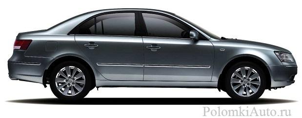 Хендай Соната: преимущества и недостатки автомобиля