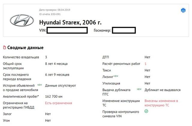Плюсы и недостатки автомобился hyundai starex