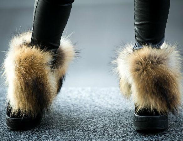 Плюсы и минусы искусственного меха в обуви