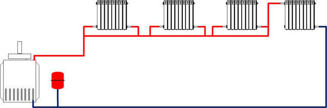 Горизонтальная разводка отопления: плюсы и минусы