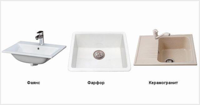 Плюсы и минусы керамической мойки