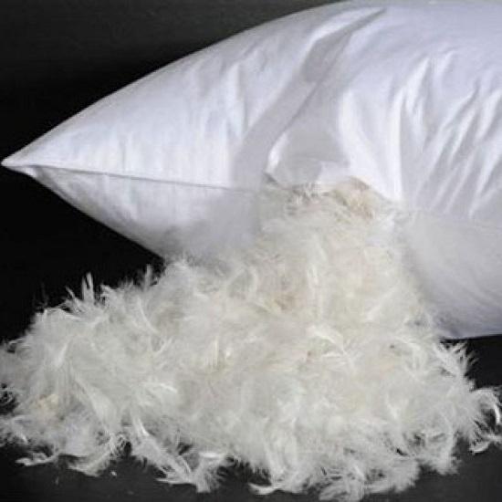 Подушка из гусиного пуха: плюсы и минусы