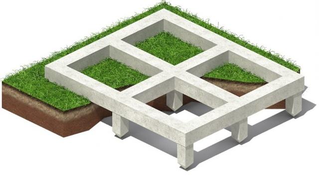 Свайно ленточный фундамент: плюсы и минусы выбора