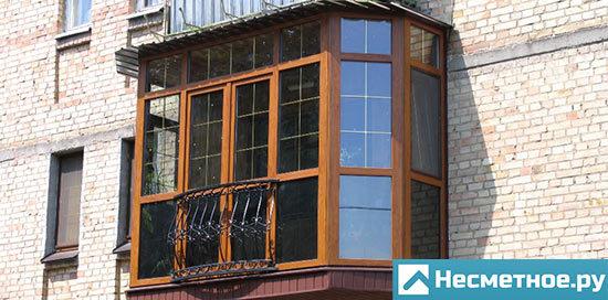 Французский балкон, его плюсы и минусы