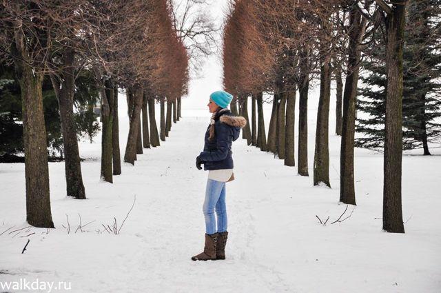 Стоит ли ехать ли ехать зимой в Петергоф?