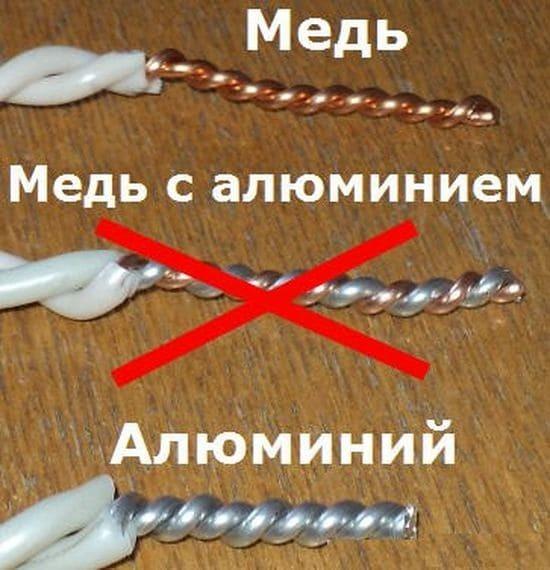 Стоит ли менять алюминиевую проводку на медную?