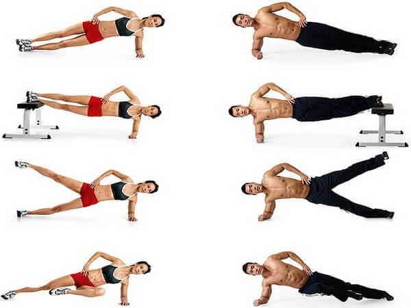 Упражнение планка — плюсы и недостатки