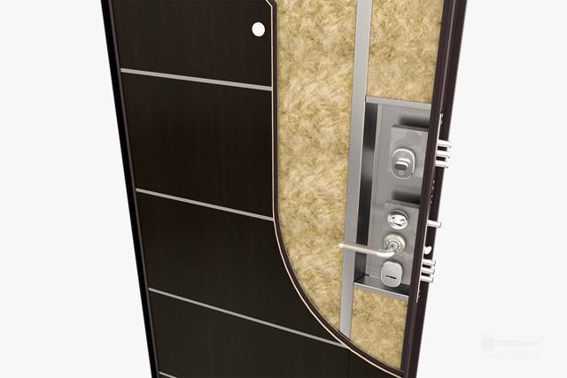 Базальтовая плита в двери: плюсы и минус