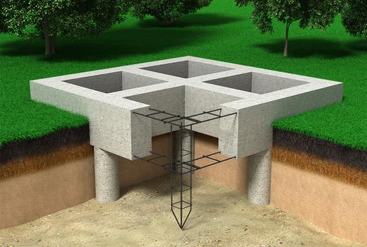 Буронабивной фундамент: плюсы и минусы