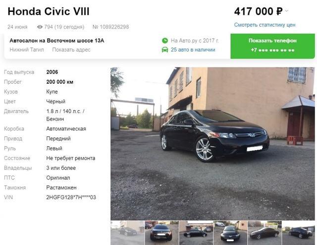 Плюсы и минусы автомобиля honda civic