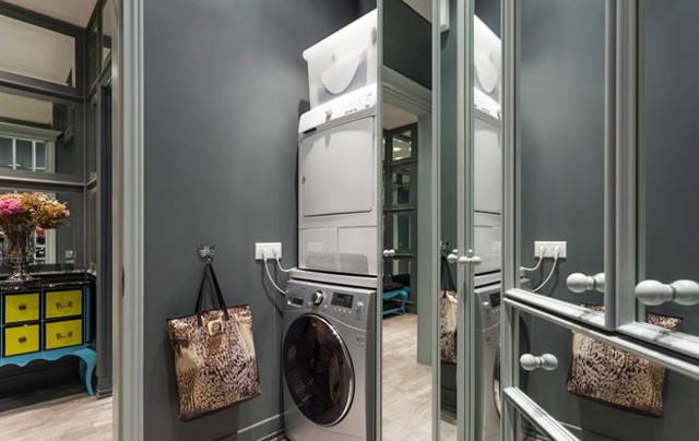 Установка стиральной машины в гардеробной: плюсы и минусы
