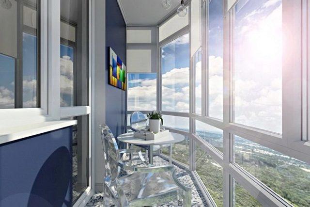 Панорамное остекление балкона: преимущества и недостатки