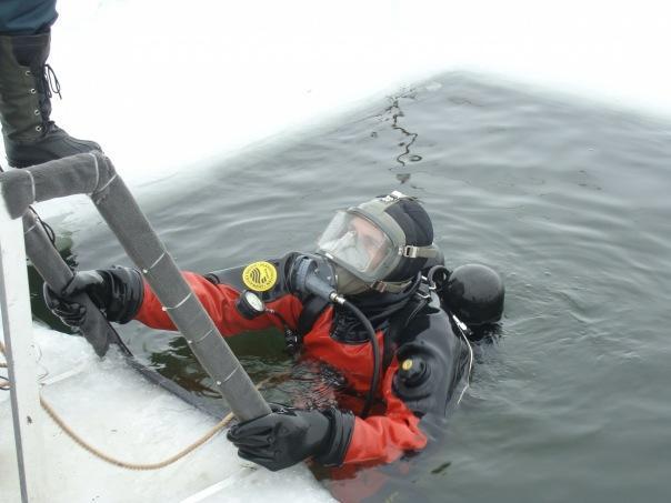 Водолаз — плюсы и минусы профессии