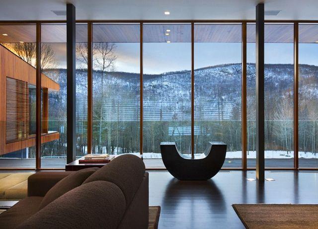 Панорамные окна в квартире, их плюсы и минусы