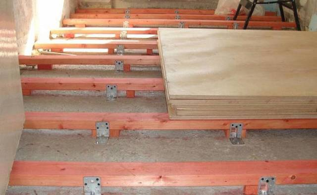 Деревянный пол в гараже: плюсы и минусы выбора