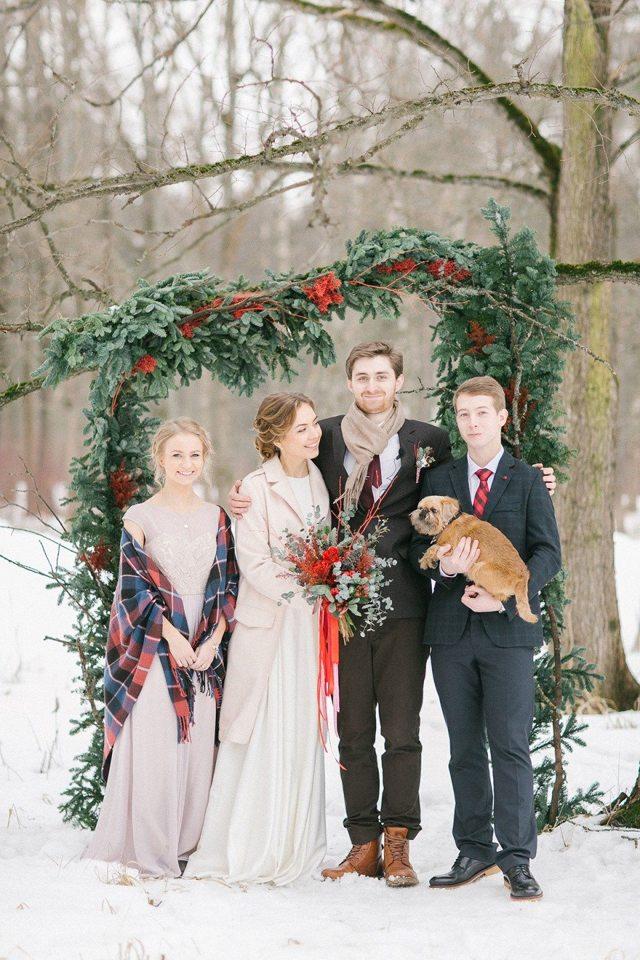 Свадьба зимой: плюсы и минусы торжества
