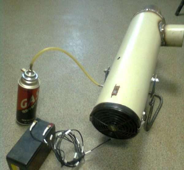 Газовая пушка: плюсы и минусы