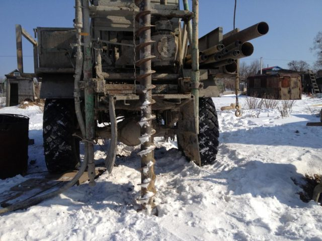 Бурение скважин зимой — плюсы и минусы