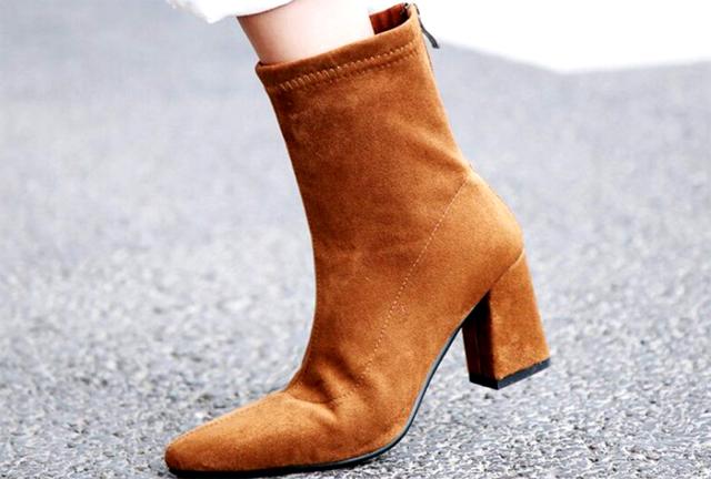 Обувь из флока, ее плюсы и минусы