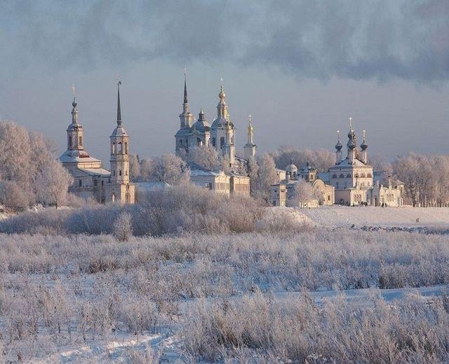 Вологда зимой — стоит ли ехать в это время года